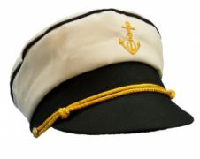 Adult Peaked Captain Hat