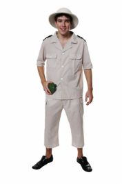 Adult Safari Explorer Costume