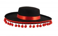 Adult Spanish Hat with Bobbles