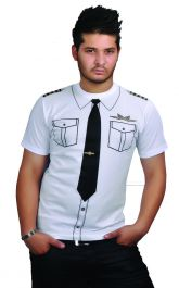 Airline Captain Printed T-Shirt