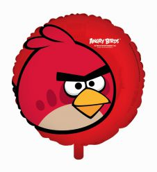 Angry Birds Red Bird Foil Balloon