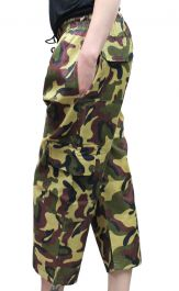 Children Camouflage 3/4 Trousers