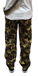 Children Camouflage Trousers