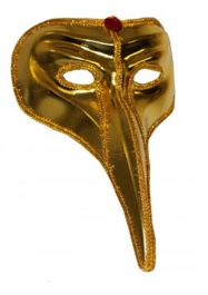 Gold Elephant Eye Mask