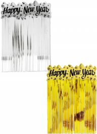 Assorted Happy New Year Door Curtains