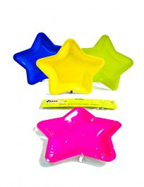 Assorted Star Shape Plates (12 Inches) Pack of 3