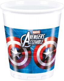 Avenger Hero Plastic Cups (Pack of 8)