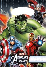 Avengers Hero Party Bags (Pack of 6)