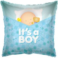 Baby Boy Sleeping Balloon (18 Inches)