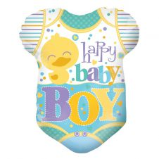 Baby Clothes Boy Shape Balloon (18 Inches)