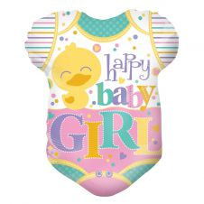 Baby Clothes Girl Shape Balloon (18 Inches)