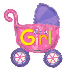Baby Stroller Girl Mini Shape (14inch)