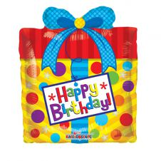 Birthday Present Packaged Balloon (14inch)