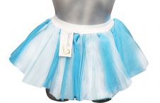 Blue & White Froza Adult TuTu Skirt
