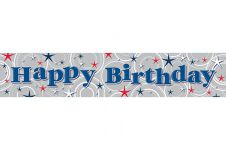 Boy Birthday Banner (Extra/Wide)