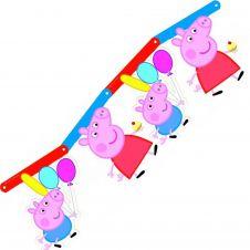 Bunting Peppa Pig (Card)