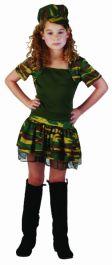 Camouflage Girl Costume