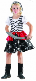 Captain J Girl Children Costume