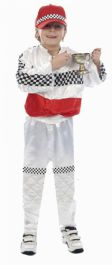 Child Motor Racer Costume