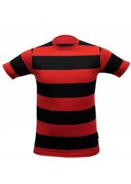 Children Red & Black Stripe T-Shirt
