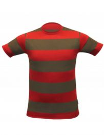 Children Red & Green Stripe T-Shirt