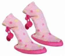 Children Pink Slipper Boots
