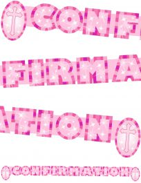 Confirmation Banner Pink