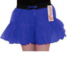 Crazy Chick Girls 2 Layers Blue TuTu Skirt