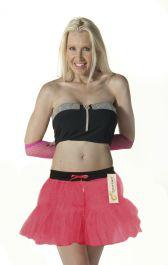 Crazy Chick 2 Layers Pink TuTu Skirt