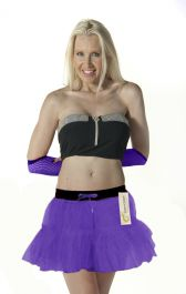 Crazy Chick 2 Layers Purple TuTu Skirt