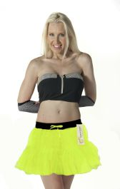 Crazy Chick 2 Layers Yellow TuTu Skirt