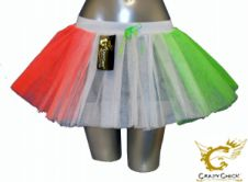 Crazy Chick 3 Layers Irish TuTu Skirt