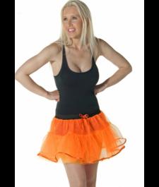 Crazy Chick 4 Layers Orange TuTu Skirt