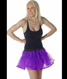 Crazy Chick 4 Layers Purple TuTu Skirt