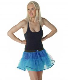 Crazy Chick 4 Layers Turquoise TuTu Skirt