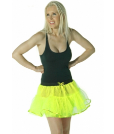 Crazy Chick 4 Layers Yellow TuTu Skirt