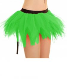 Crazy Chick 6 Layer Petal Green Fairy TuTu Skirt