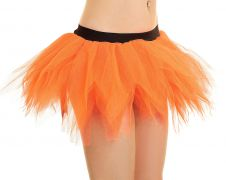 Crazy Chick 6 Layer Orange Petal Pumpkin TuTu Skirt
