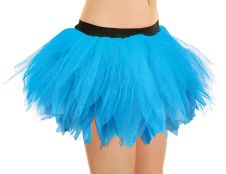 Crazy Chick 6 Layer Turquoise Petal TuTu Skirt