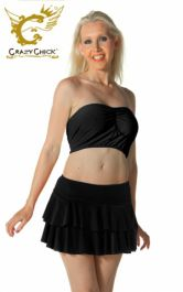 Crazy Chick Black RARA Skirt