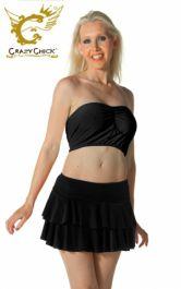 Crazy Chick Black RARA Skirt