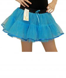 Crazy Chick Girls 4 Layers Turquoise TuTu Skirt