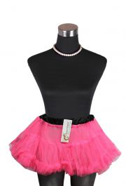 Crazy Chick Girls Dance Wear Chiffon Pink Petticoat TuTu Skirt