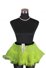 Crazy Chick Girls Dance Wear Yellow Petticoat TuTu Skirt