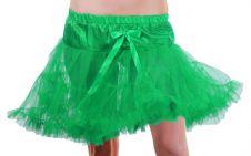 Crazy Chick Girls Green Layered Ruffle Petticoat TUTU Skirt