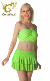 Crazy Chick Green RARA Skirt