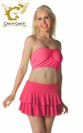 Crazy Chick Women Hot Pink RARA Skirt