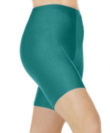 Crazy Chick Jade Green Cycling Shorts
