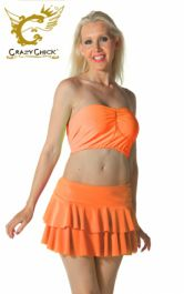 Crazy Chick Orange RARA Skirt