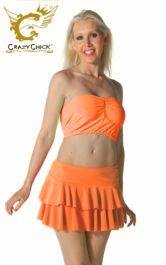 Crazy Chick Orange RARA Skirt